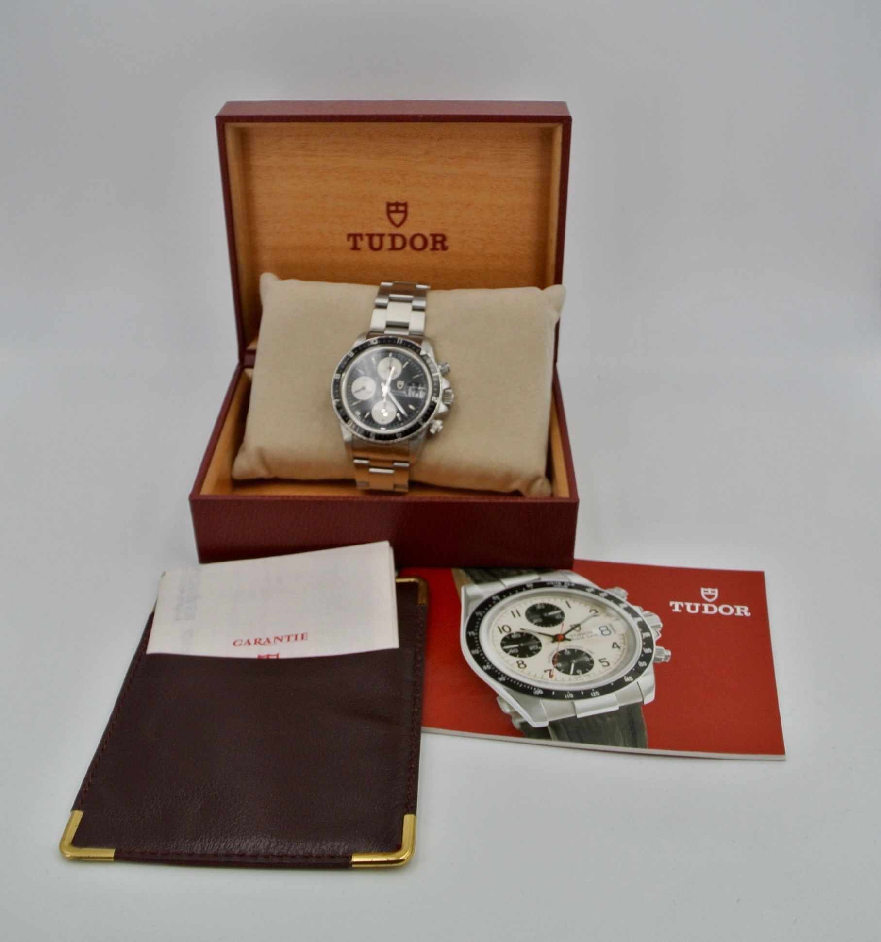 Tudor Big Block 94210 never polish