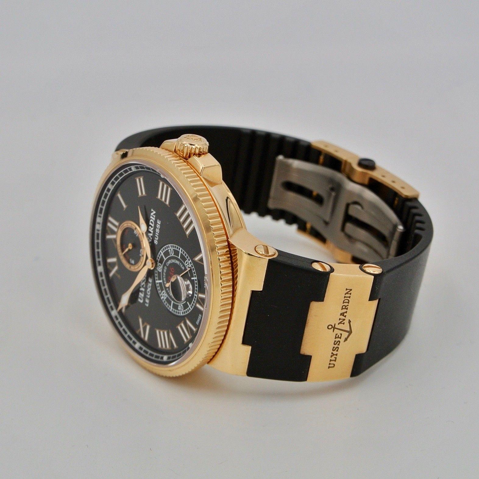ULYSSE NARDIN  MARINA  Chronometre Rose Gold