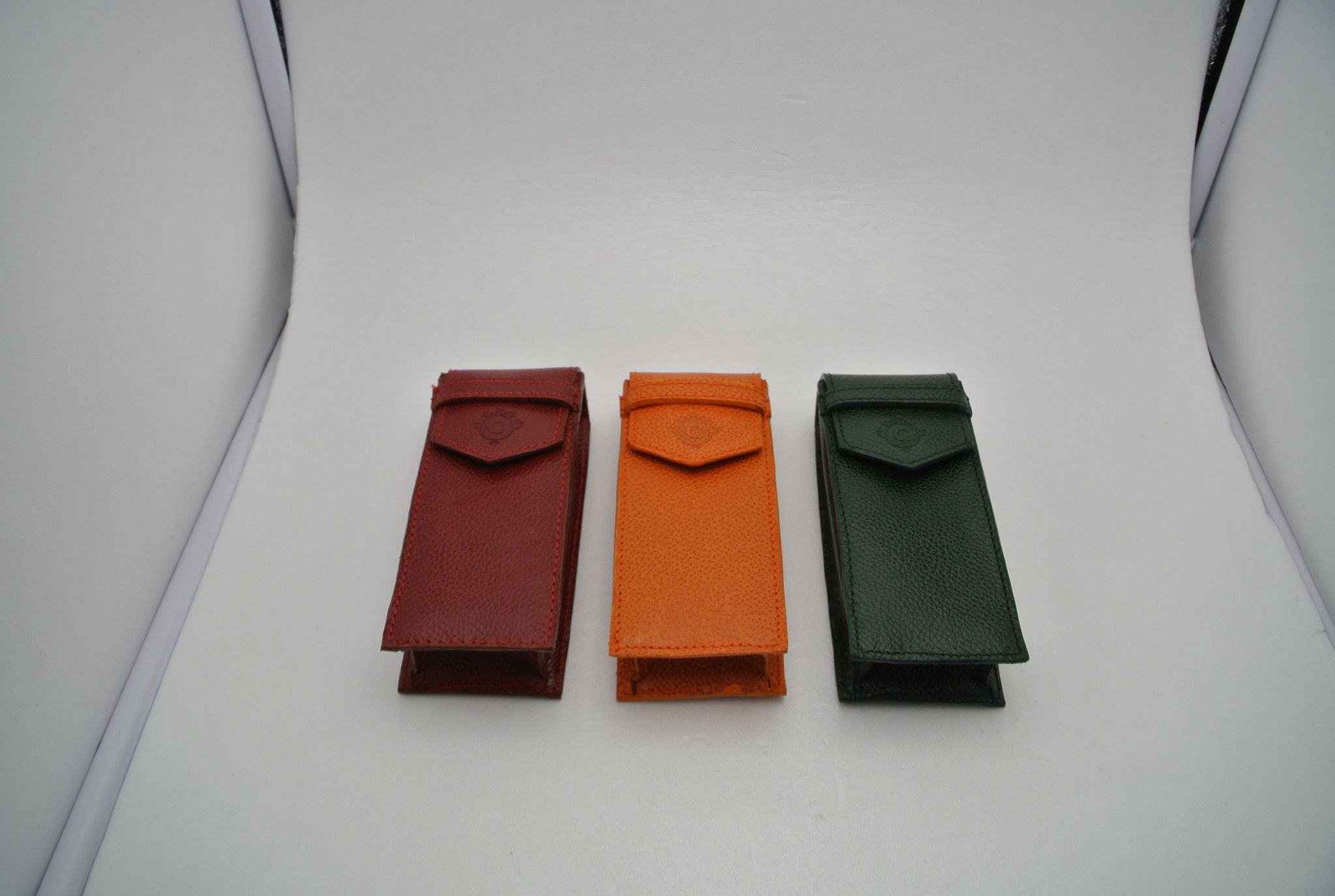 CARTIME portaorologio pelle singolo