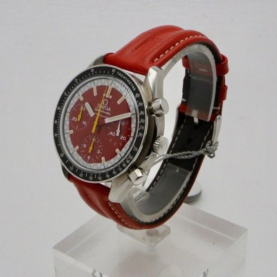 OMEGA Speedmaster Michael Schumacher Rosso automatic N.O.S.