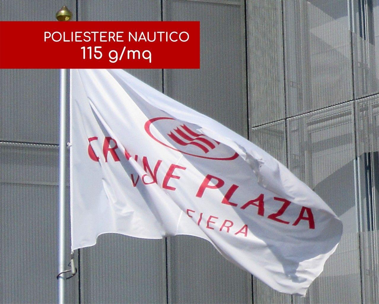 Bandiere Personalizzate Orizzontali - Tessuto Nautico 115 g/mq
