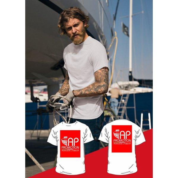 T-shirt Bianca - 2 Stampe Grandi