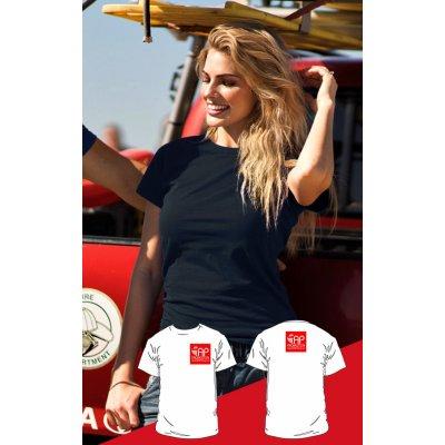 T-shirt Nera - 2 Stampe Piccole