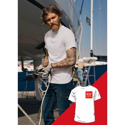 T-shirt Bianca - 1 Stampa Piccola