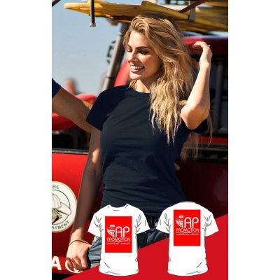 T-shirt Nera - 2 Stampe Grandi