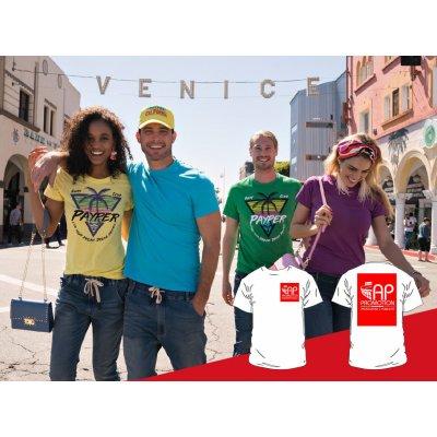 T-shirt Colorata - 1 Stampa Piccola + 1 Grande
