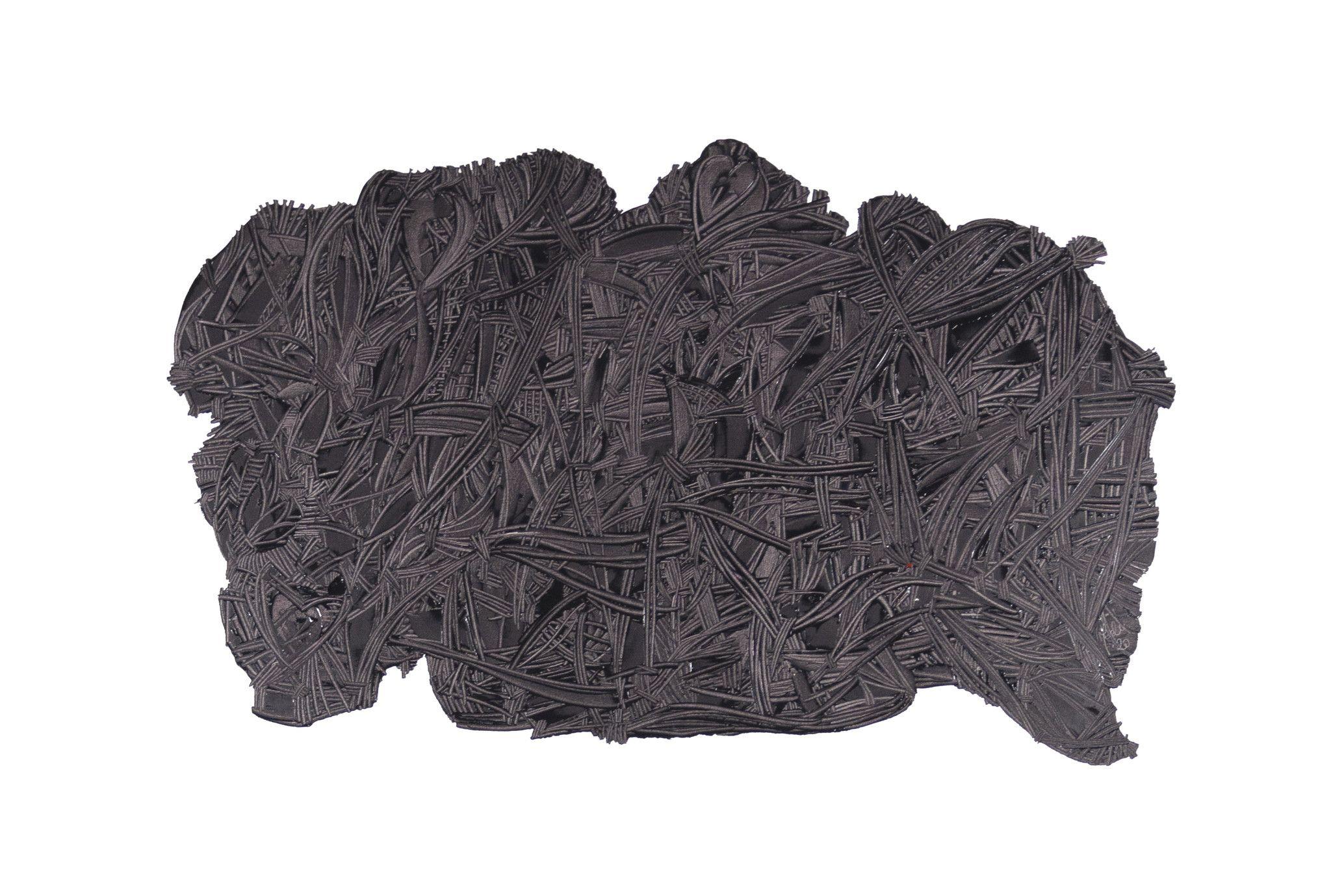 OLIO SU TELA ERIKA MARCHI ' I WANT TO BREAK FREE '  dimensioni L 150 x H 100 cm.