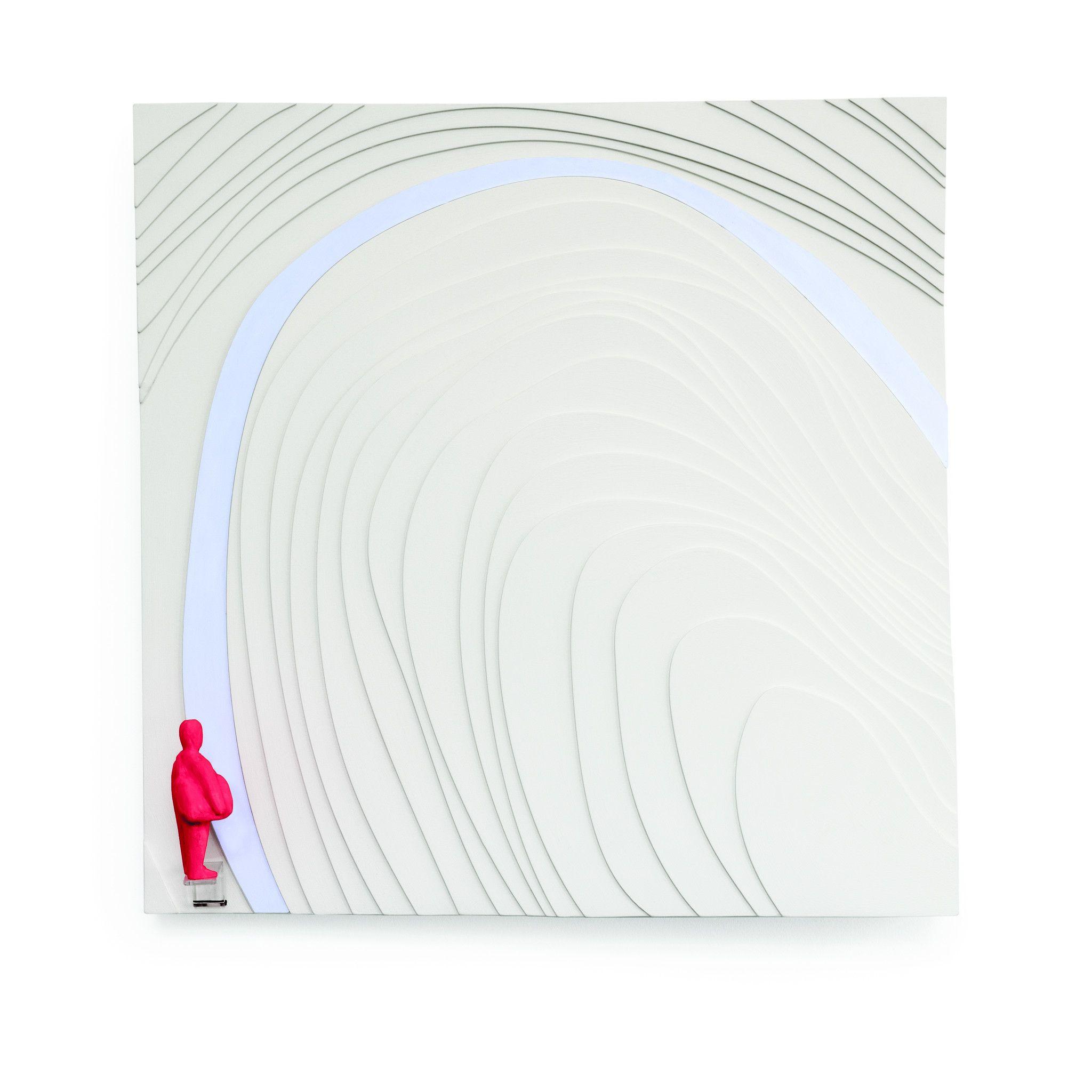 SCULTURA  DANIELA FORCELLA ' FRAME 1 '  dimensioni L 50 x H 50 x P 7 cm.