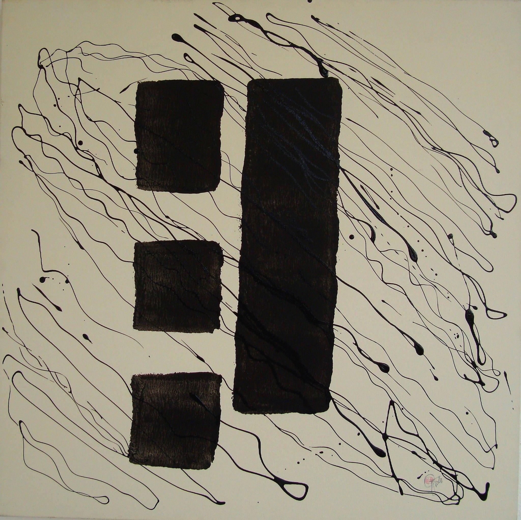 MIXED MEDIA  GABRIELLA TOLLI ' DIVERSO '  dimensioni L 70 x H 70 cm.