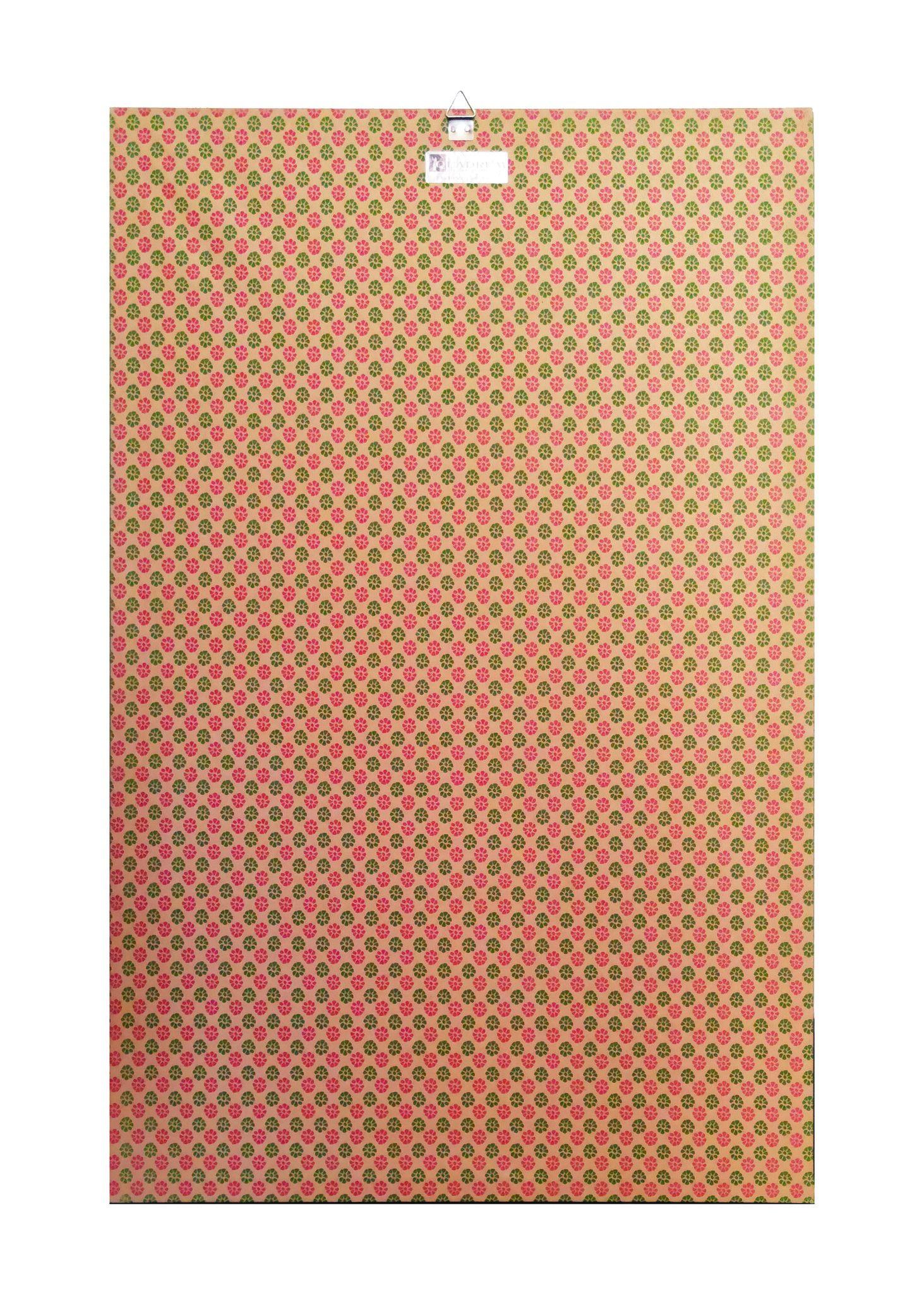 ACQUERELLO SU CARTA  VIVIAN  NARDUZZI ' GEISHA NEL GIARDINO DI GION '  dimensioni L 36 x H 48 cm.