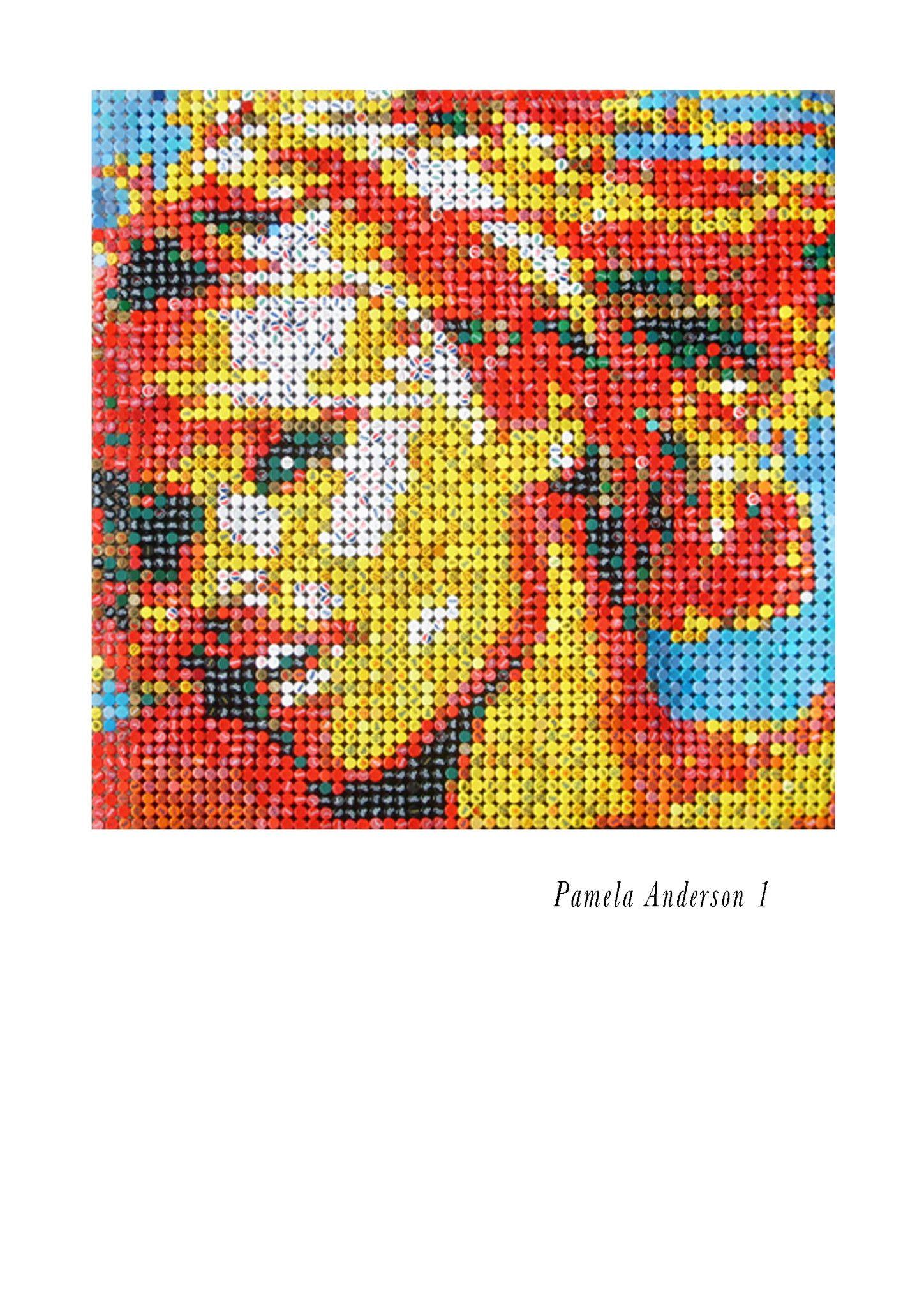 "MIXED MEDIA JORGE CASTRO GOMEZ "" PAM 1 ""  dimensioni L 150 x H 150 cm."