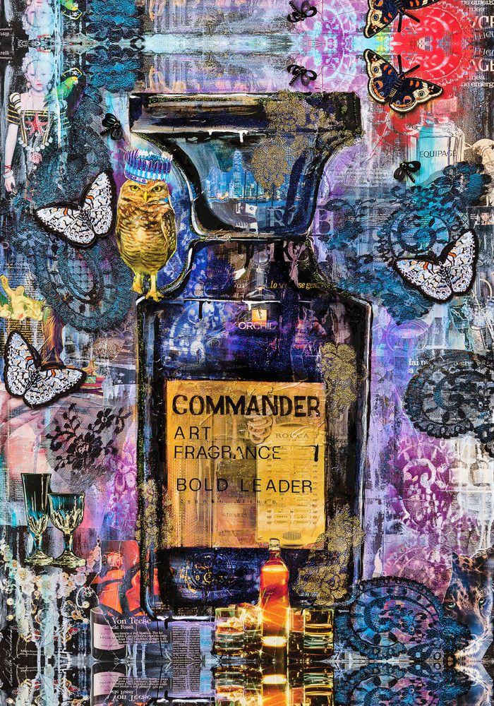 """PREGIATO FOULARD LUDMILLA RADCHENKO """" COMMANDER """"  dimensioni L 140 x H 200 cm."""