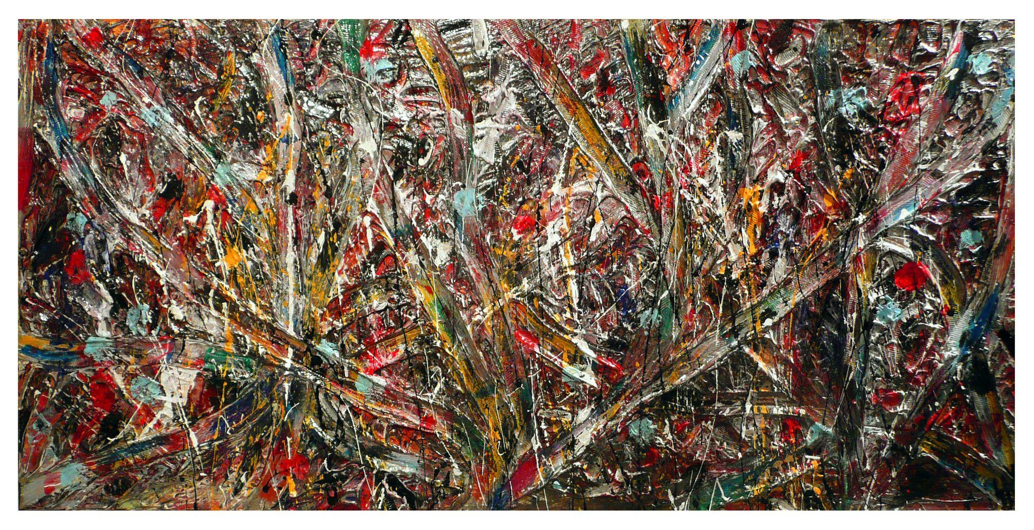 PROMOZIONE #artistadelmese MIXED MEDIA SERGIO SASSIDA ' NATURA VIVA '  dimensioni L 125 x H 60 cm.