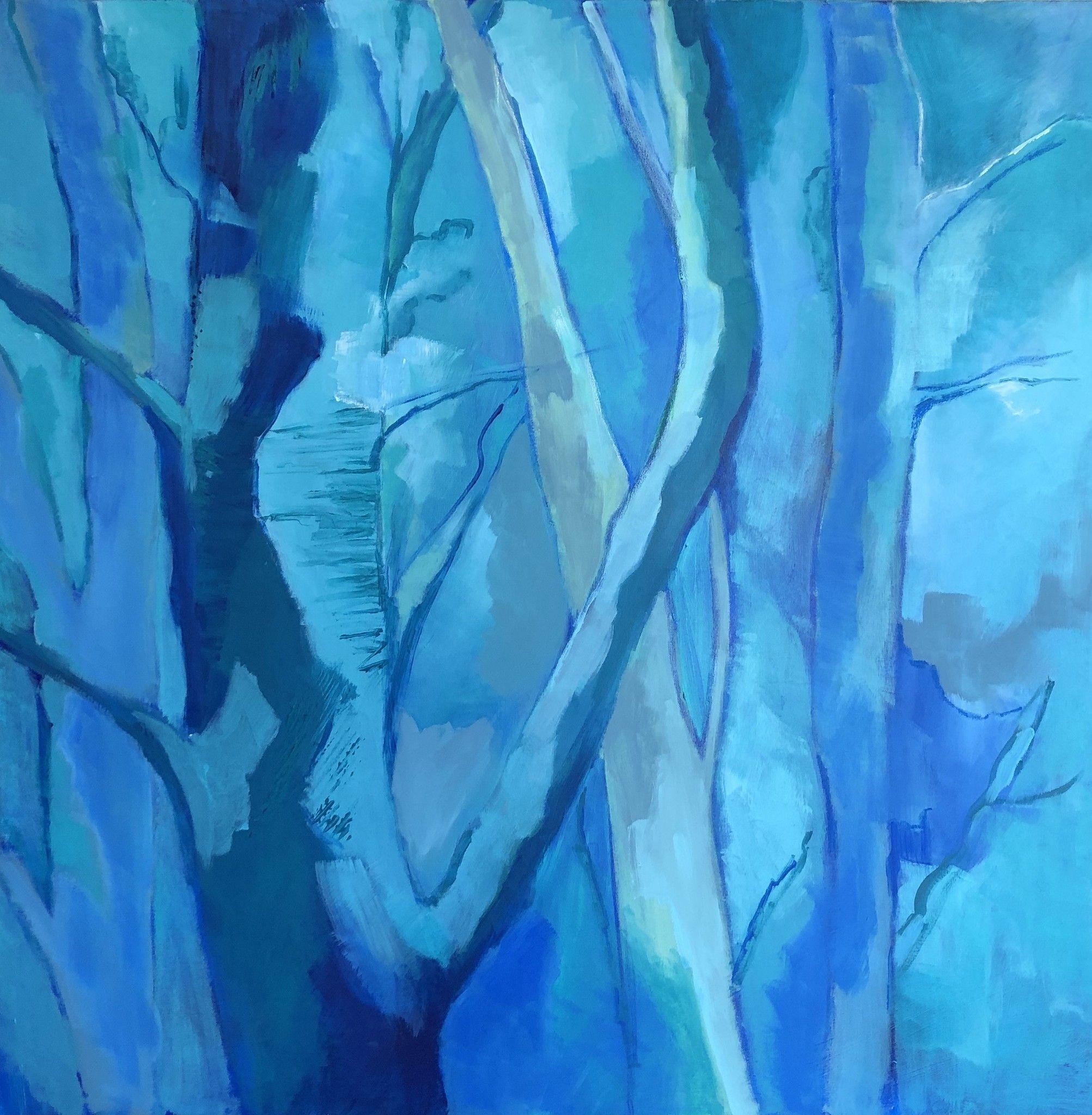 MIXED MEDIA BIANCA BEGHIN ' SENZA FINE '  dimensioni L 80 x H 80 cm.