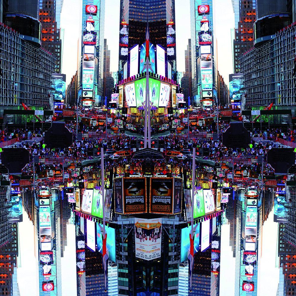 FOTOGRAFIA MAX FALSETTA SPINA ' NEW YORK STUDIO 7 '   dimensioni L 100 x H 100 cm.