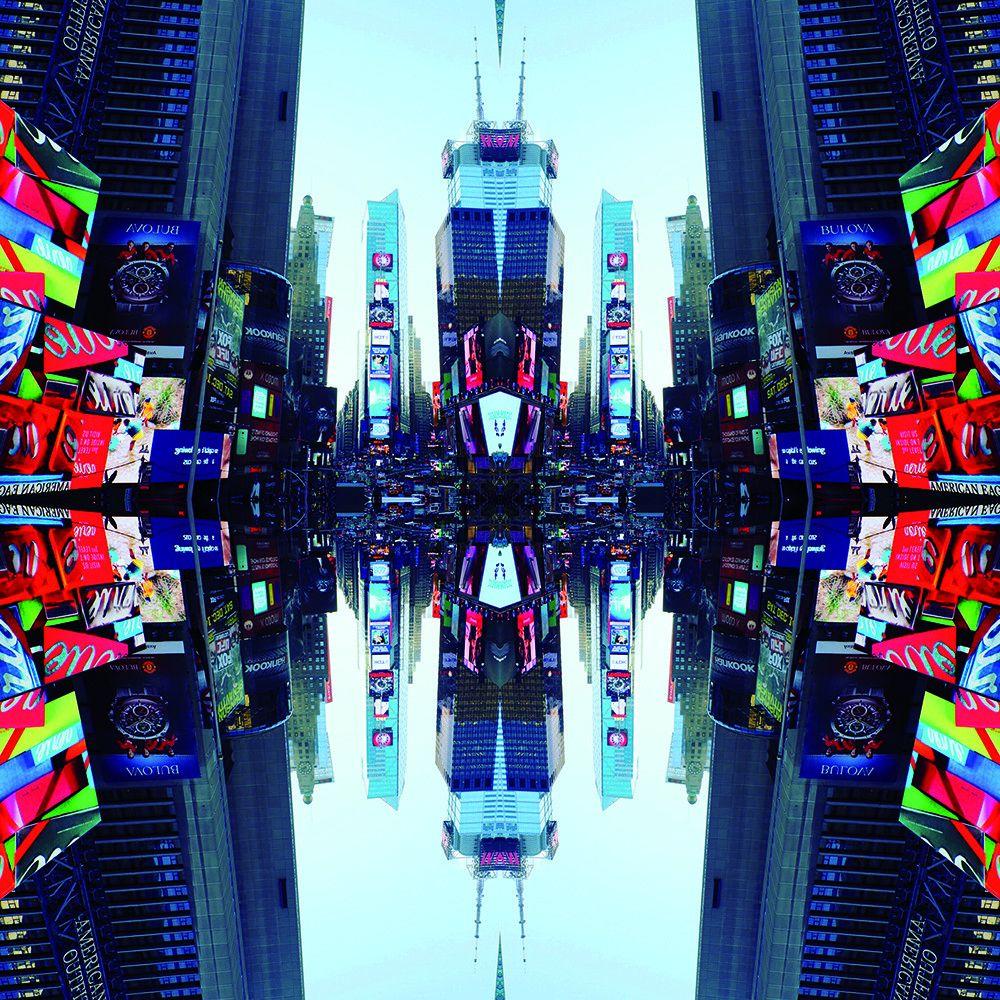 FOTOGRAFIA MAX FALSETTA SPINA ' NEW YORK STUDIO 11 '   dimensioni L 100 x H 100 cm.