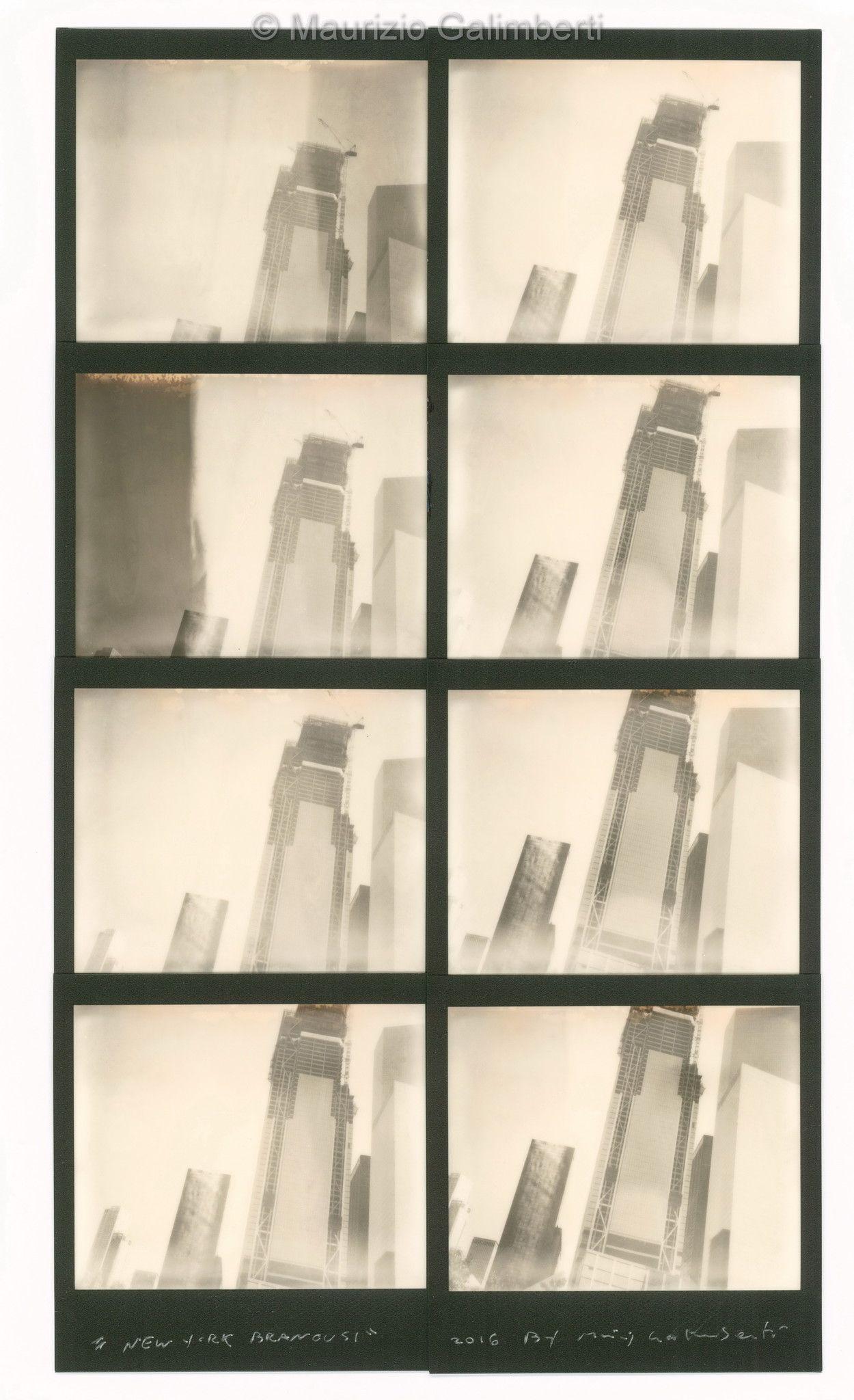 "VINTAGE POLAROID MAURIZIO GALIMBERTI ""BRANCUSI"" dimensioni cm. 43x58"