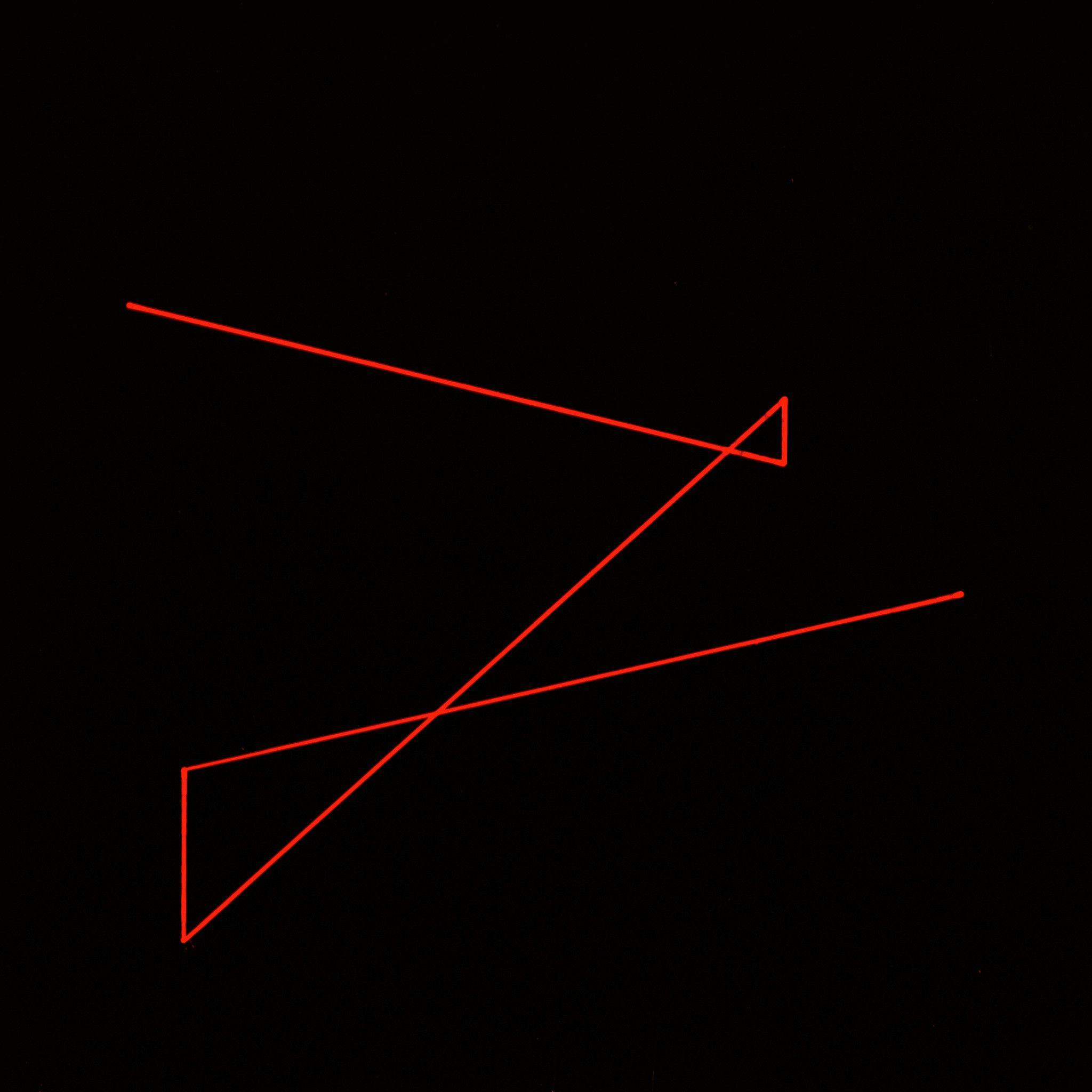 """VETRO DECORATO IGOR GRIGOLETTO """" SEGNO 041 """"  dimensioni L 20 x H 20 cm."""