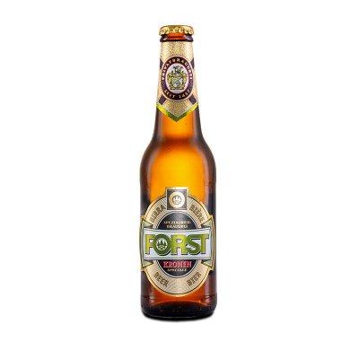 Birra Forst bionda 5.2% alcool bottiglia vetro 33 cl.