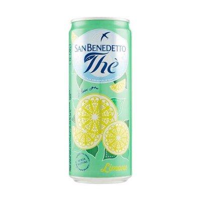 The limone San Benedetto, bibita analcolica, lattina 33cl.