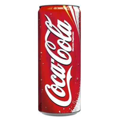 CocaCola gusto classico, bibita analcolica, lattina 33cl.