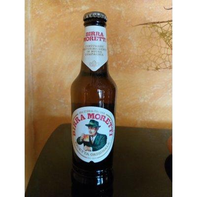 Birra Moretti bionda 4,6% alccol bottiglia vetro 33 cl