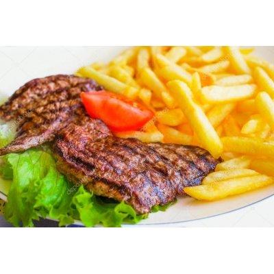 DA ASPORTO: Bisteccona di Manzo gr.300 con Patatine fritte