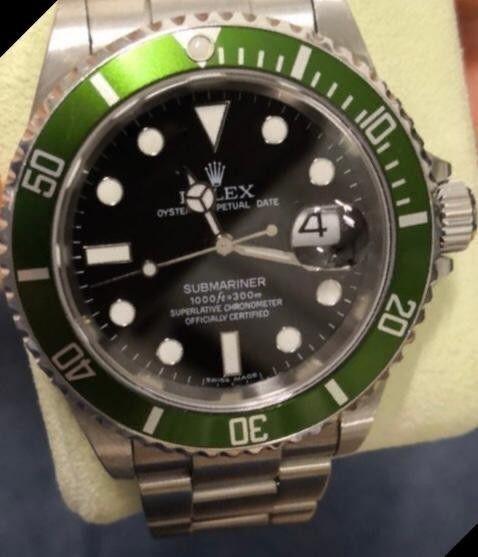 Rolex Submariner Ghiera Verde Uomo
