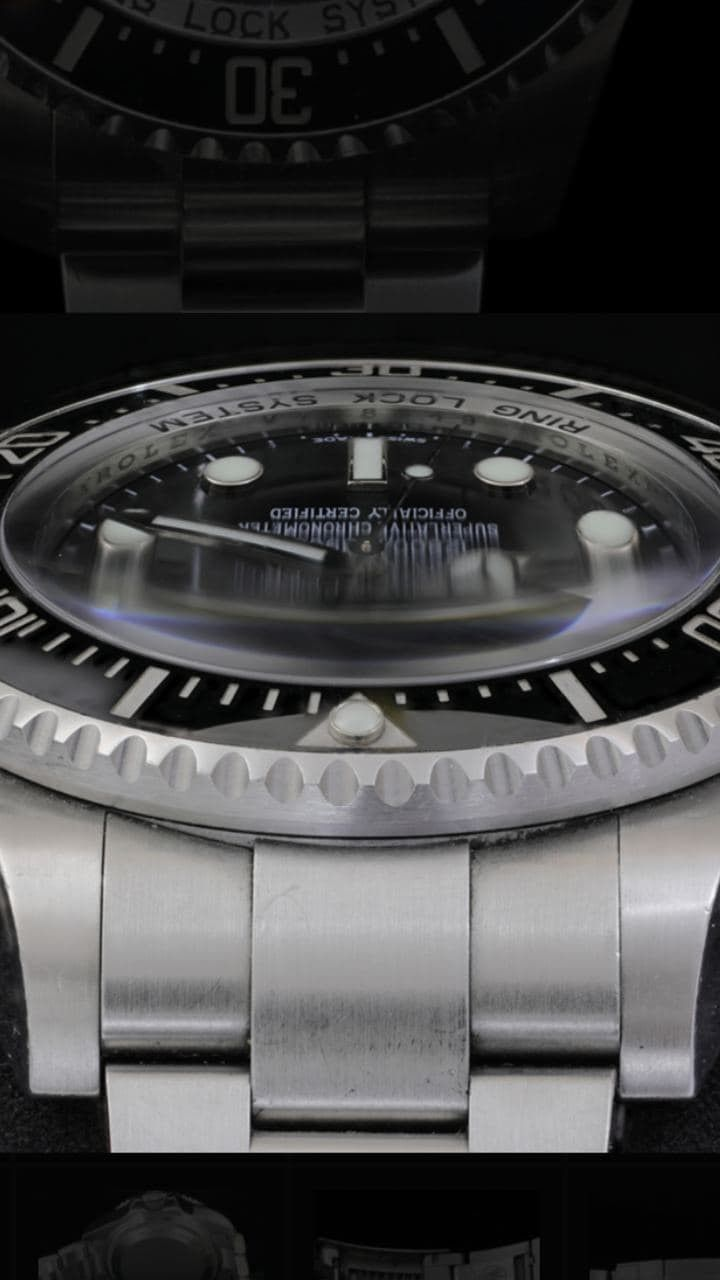 Rolex Sea Dweller Deepsea Uomo