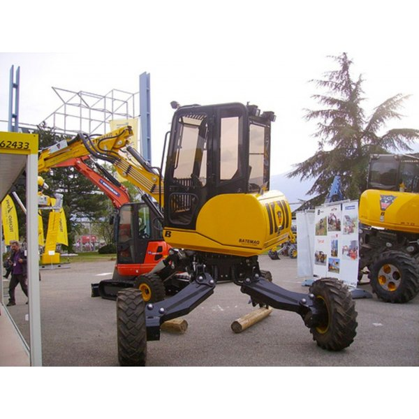 Walking excavator Batemag P40