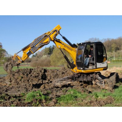 Walking excavator Batemag P70