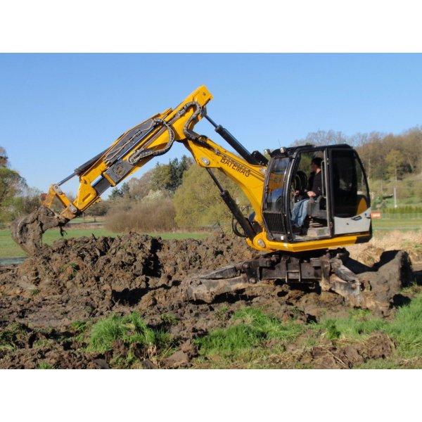 Walking excavator Batemag P70