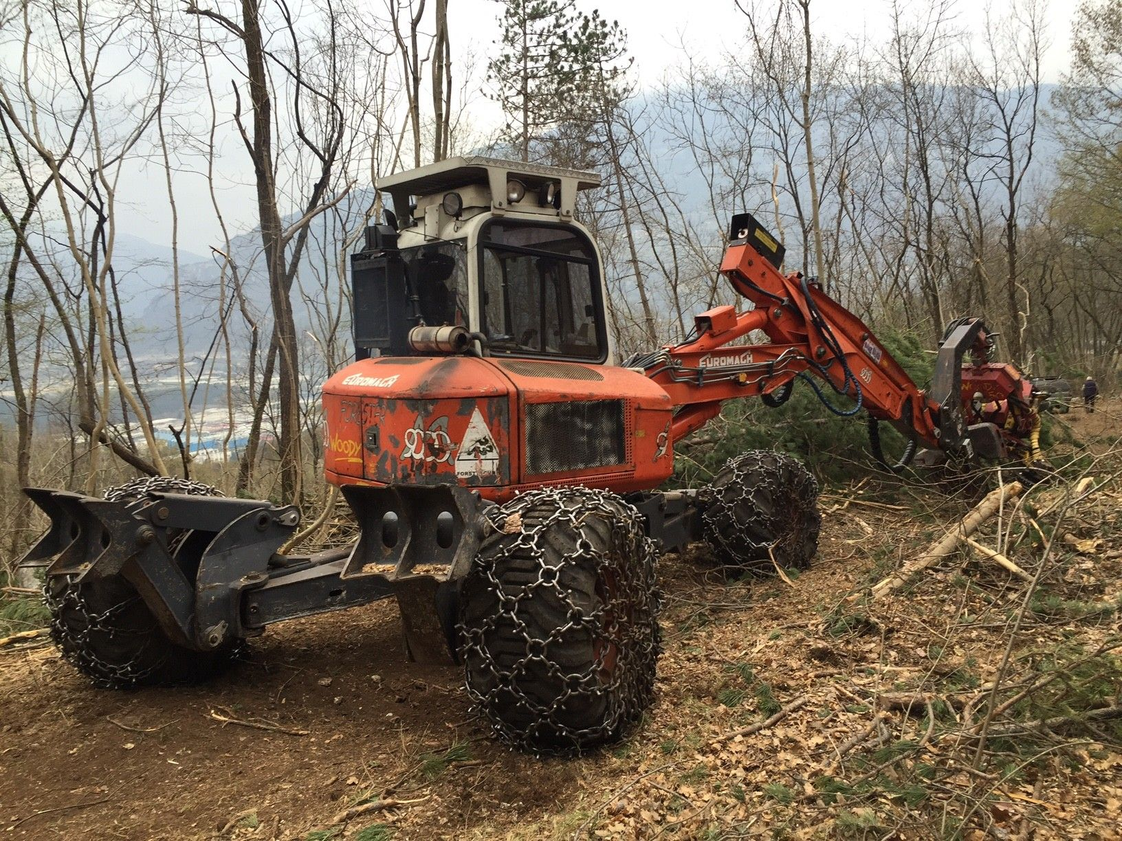 Ragno Euromach 9000 Forester usato