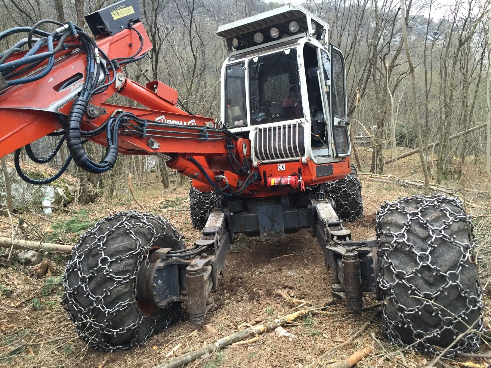Escavatore ragno euromach usato dispositivo arresto for Mercato del mobile usato milano