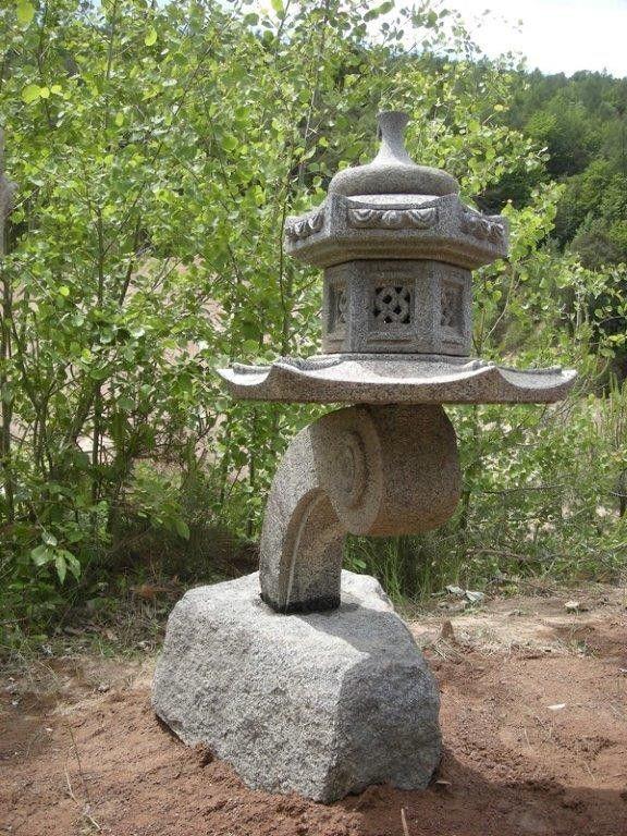 Lanterna orientale di granito per giardino top center for Giardino orientale