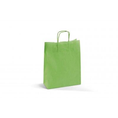 Busta Carta Kraft Bianco Verde Mela 36Cm - Conf. da 200Pz