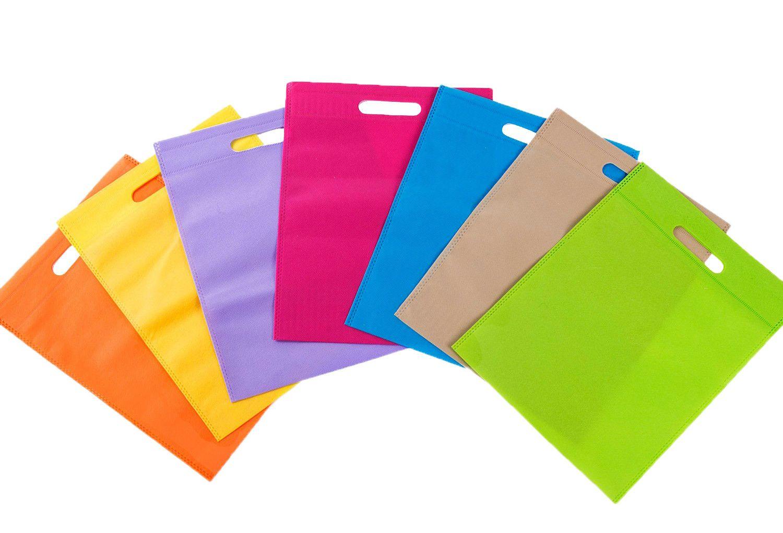 Shopper HD my 60 materiale colorato fagiolo 18+10x30
