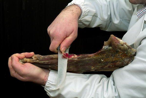 Violino di capra stagionato (prosciutto)