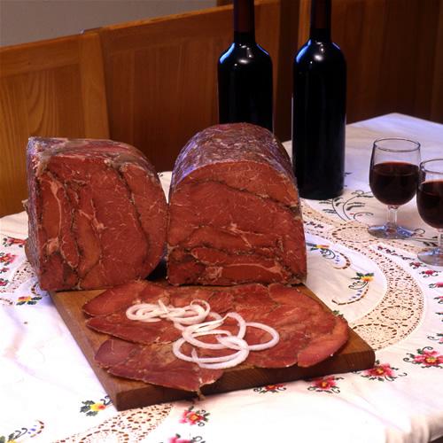 Corned beef's meat