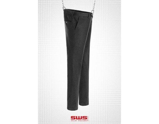Pantalone Jhonny in microfelpa nera