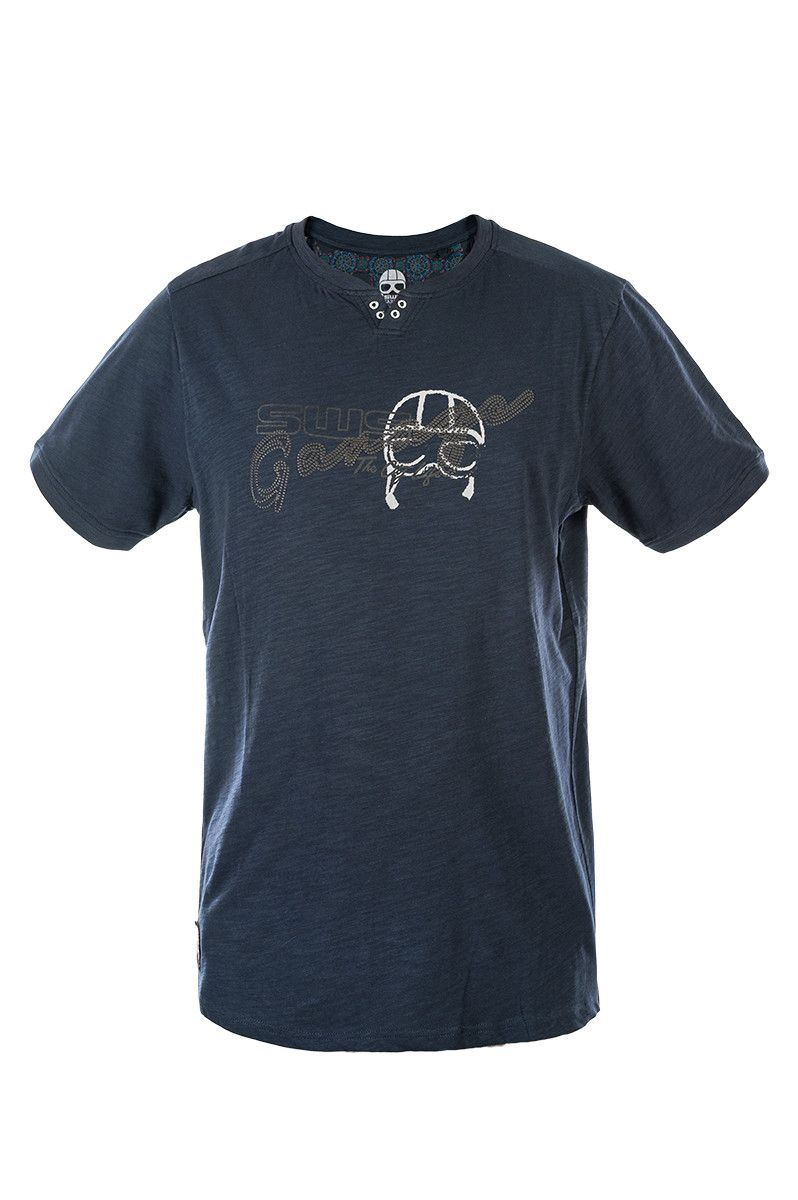 T-shirt Manuel, Blu