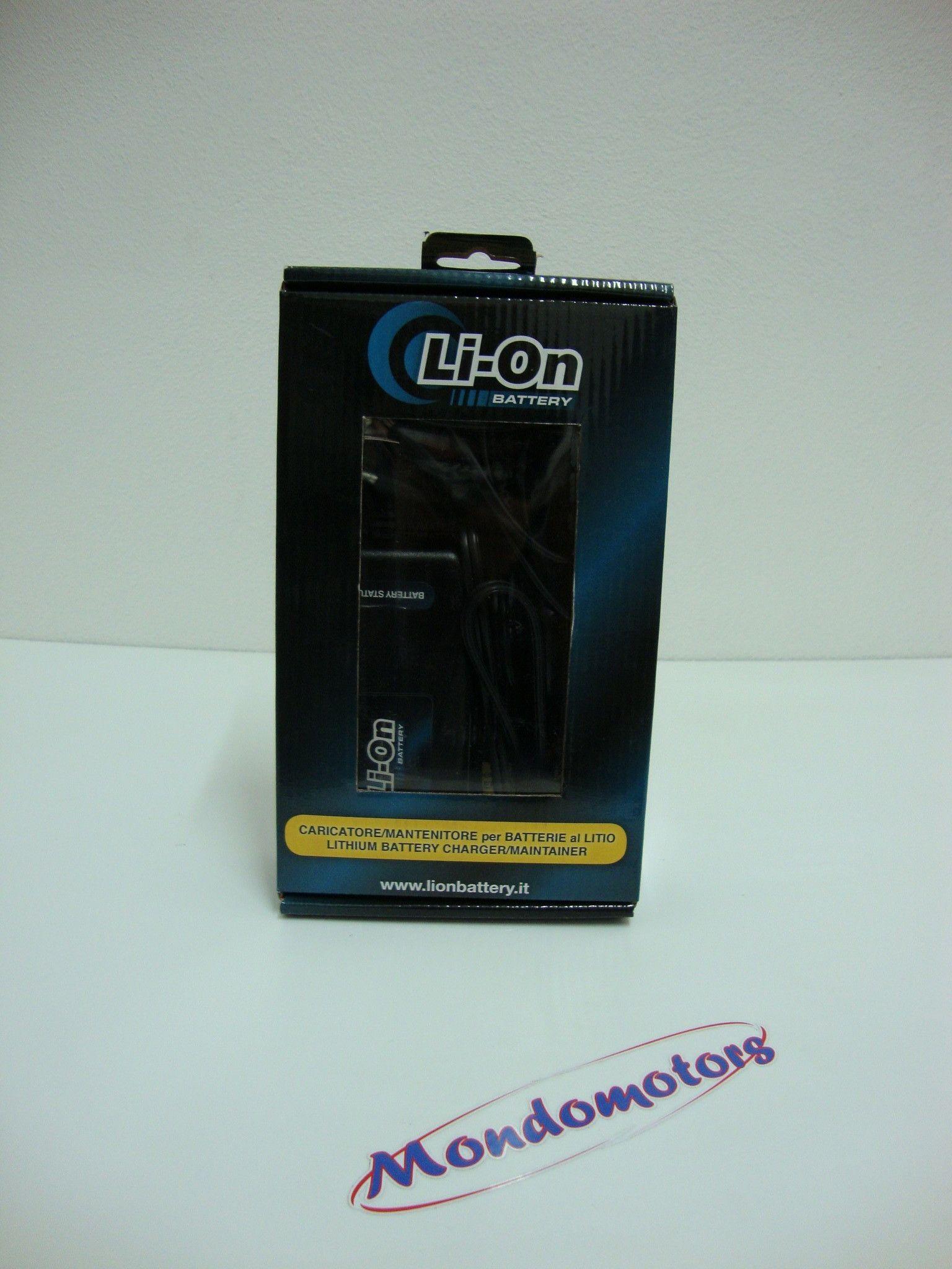 Caricatore/Mantenitore Batterie Al Litio