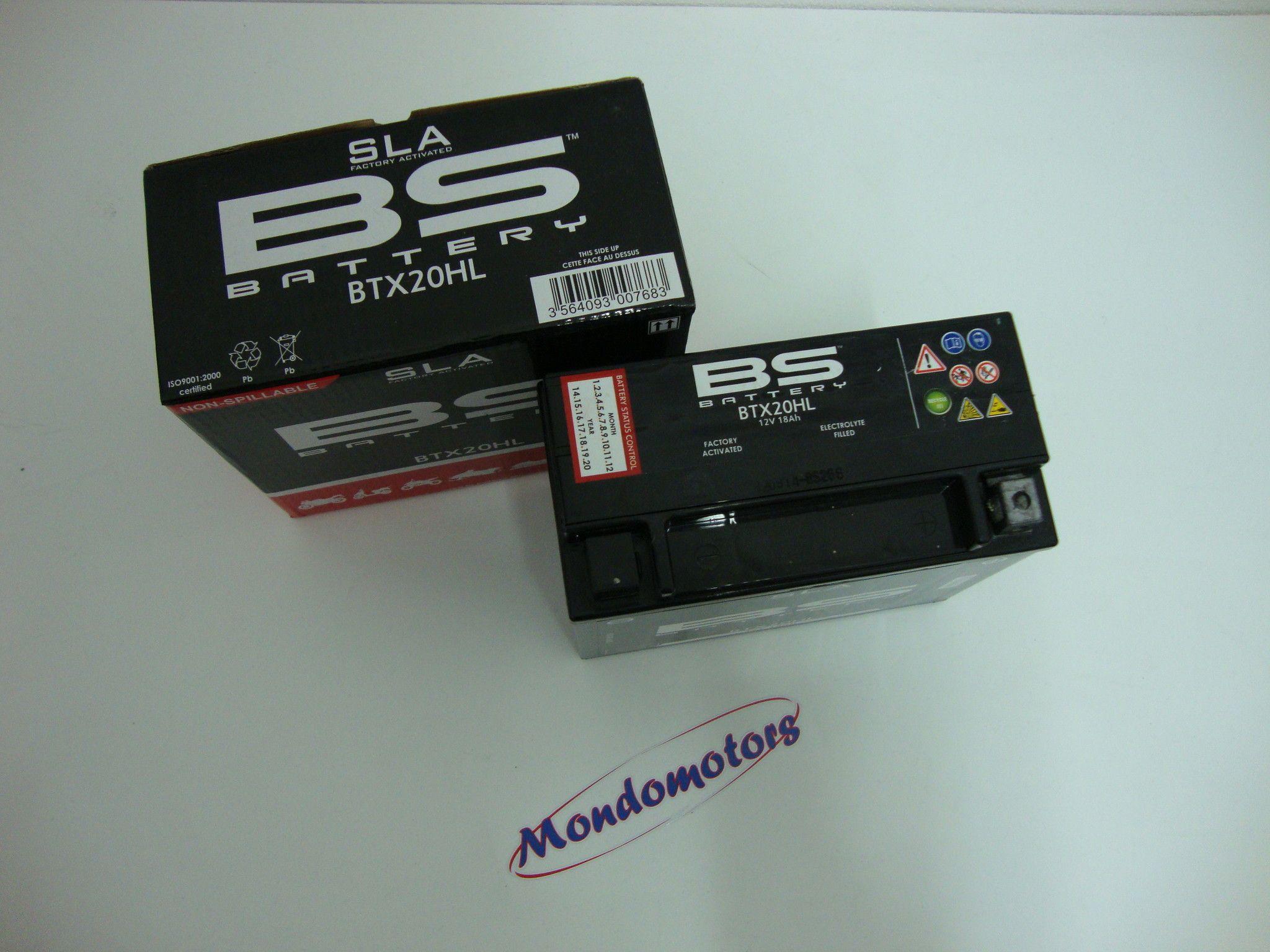 Batteria Tipo SLA BTX20HL