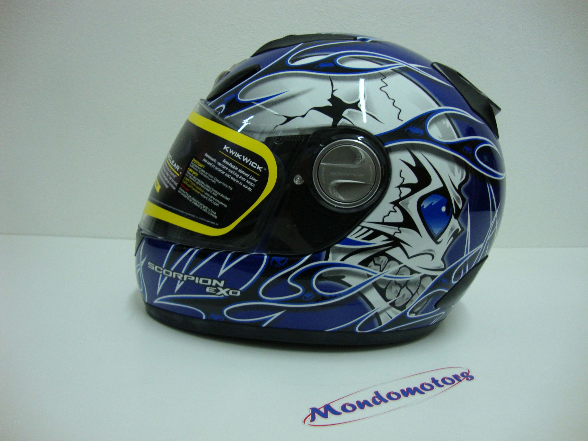 Casco Scorpion EXO 700 Crackhead