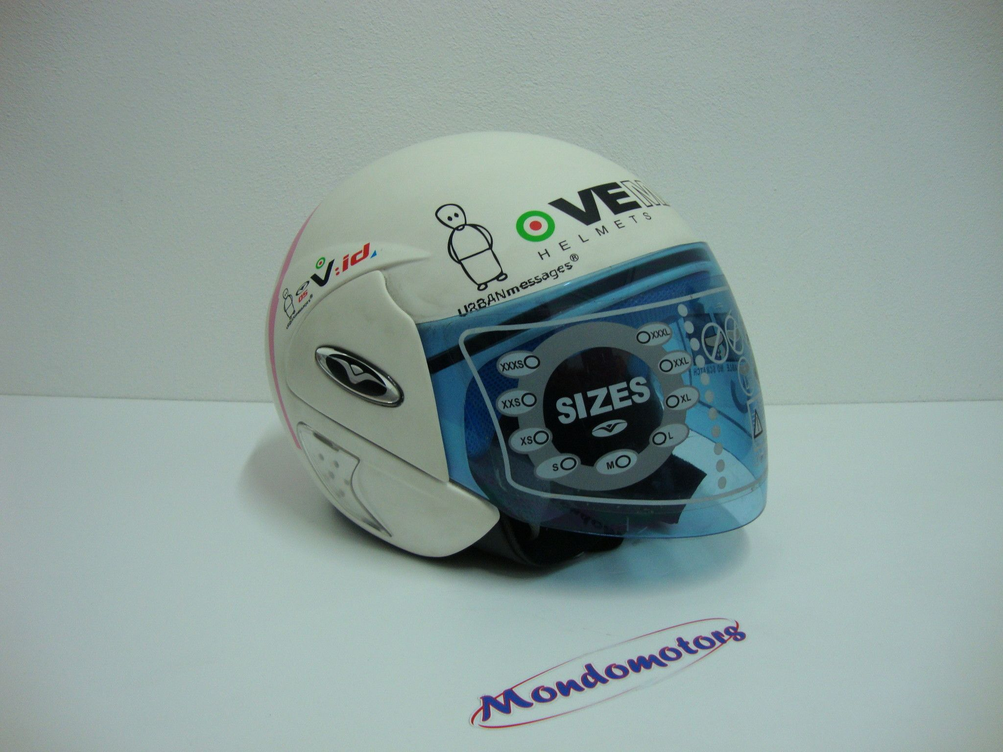 Casco Vemar Jet Urban Message