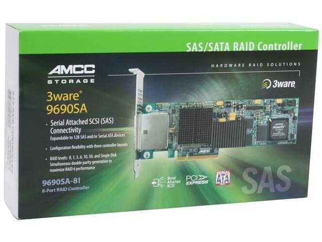 Controller 3Ware Escalade 9690SA-8I-KIT SAS/SATA PCI-EX E.I.