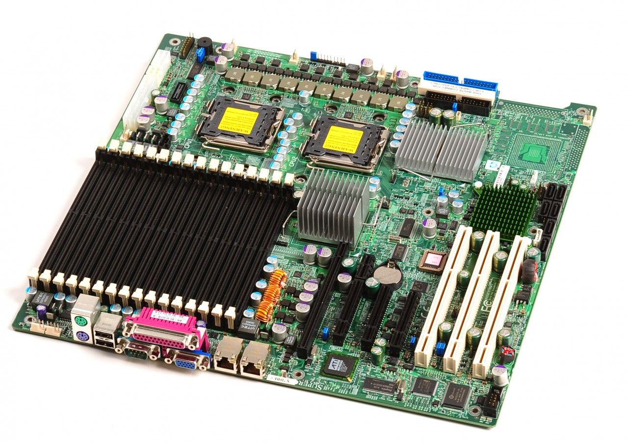 Motherboard SuperMicro X7DAE Dual Xeon-Quad Core