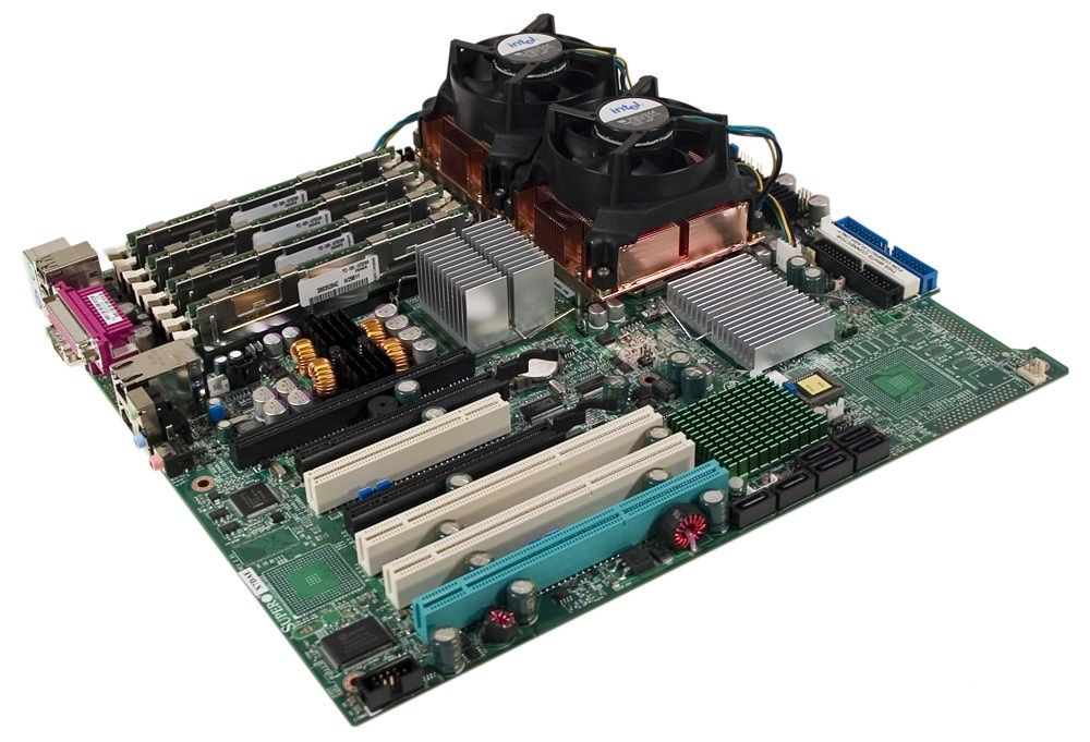 Motherboard SuperMicro X7DAE+ Dual Xeon-Quad Core
