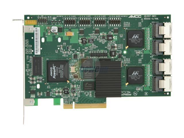 Controller 3Ware Escalade 9650SE-16ML PCI-E SATA2
