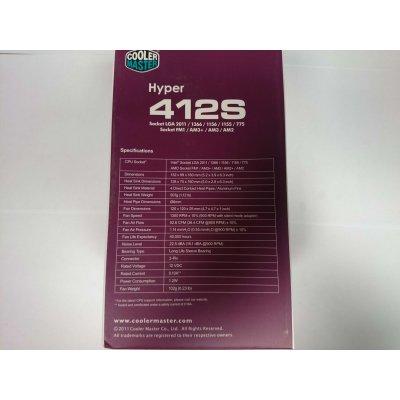 Dissipatore Cpu Cooler Hyper CMY412S LGA1155 Cooler Master